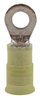 Picture of TERMINAL RING NYLON-INS 12-10 GAUGE, #10 STUD