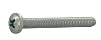 """Picture of MACHINE SCREW PHILLIPS PAN HD #6-32 X 1"""""""