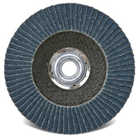 "Picture of RAM PRO SERIES FLAP DISC - JUMBO W/HUB 4-1/2"" D, 5/8""-11 ARB 120 GRIt"